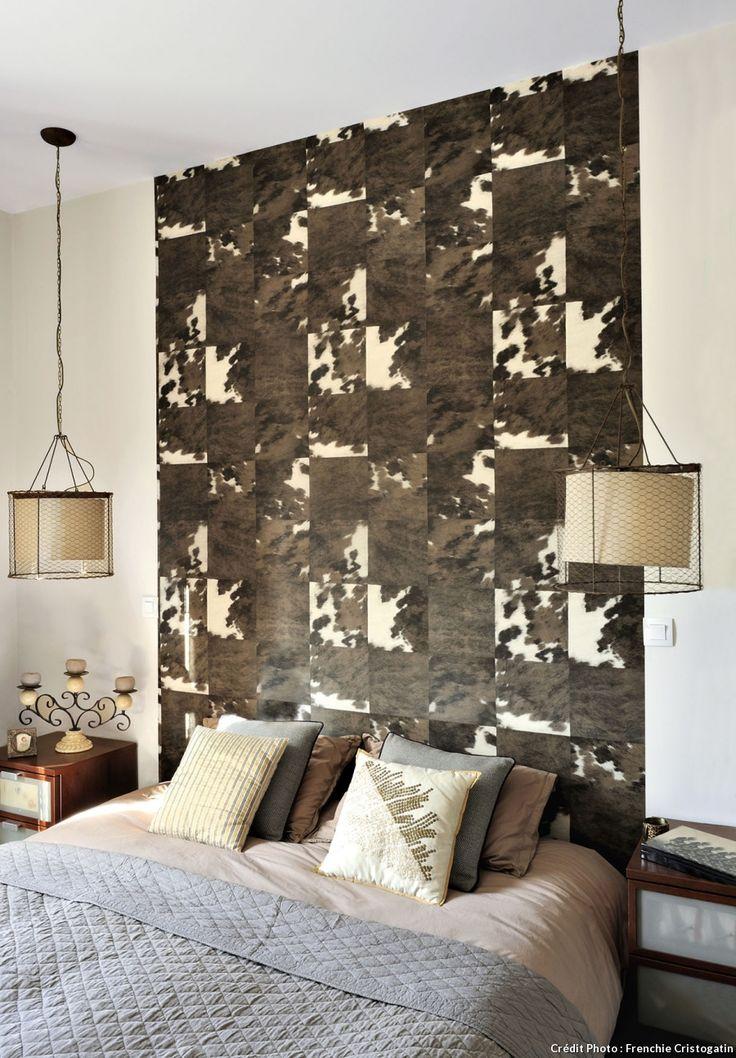 les 53 meilleures images du tableau t tes de lit headboards sur pinterest chambres lits et. Black Bedroom Furniture Sets. Home Design Ideas