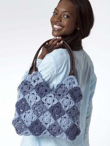 Puzzle Bag | Yarn | Free Knitting Patterns | Crochet Patterns | Yarnspirations