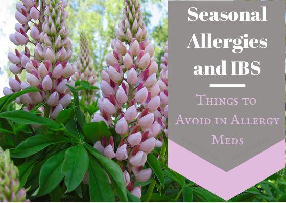 Seasonal Allergies and IBS: Things to avoid in allergy meds - TheFitCookie.com  #allergies #IBS #health