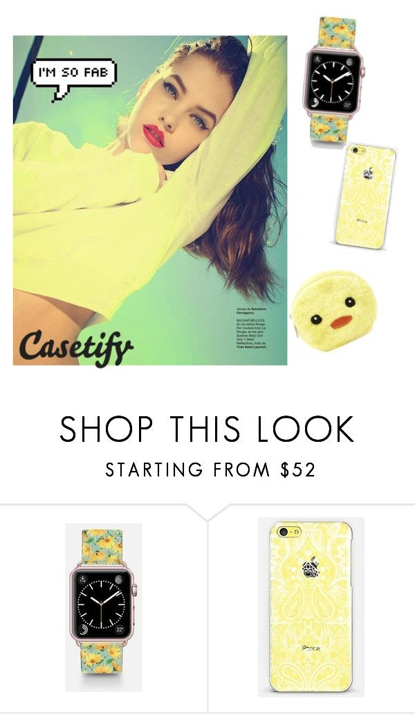 """Casetify-The shinig sun"" by galaxygurl411 ❤ liked on Polyvore featuring Casetify and Forever 21"
