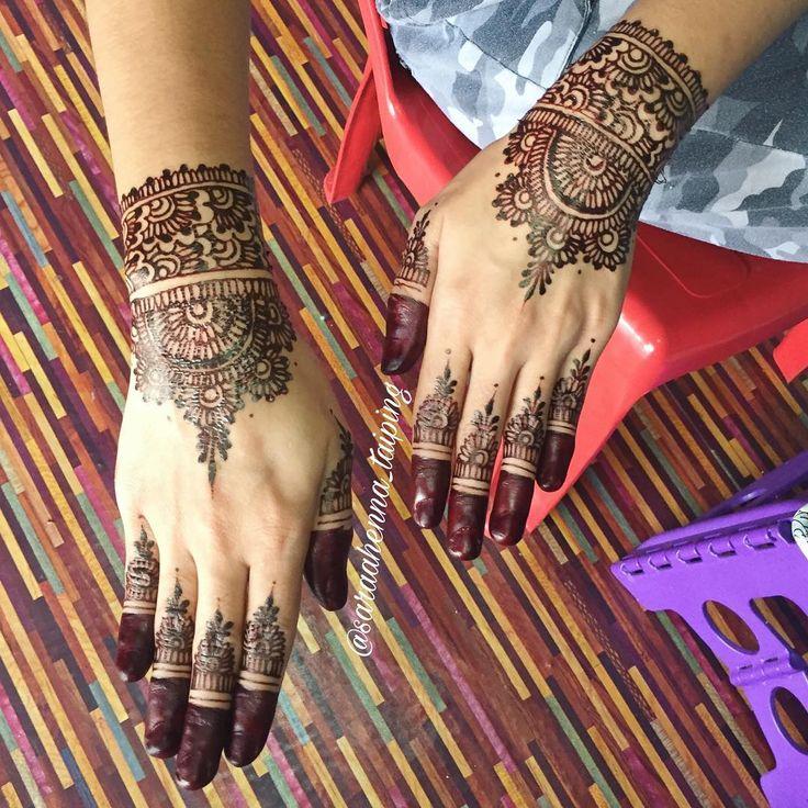 . Thank you Idafarianti  Location - bagan serai . . @saraahenna_taiping Booking / enquiries whatsapp (Nama Lokasi & Tarikh berinai) 60175060510 . . Based in | Taiping >> Open booking until FEBRUARY 2018 << Booking your slot now ! --- #henna #hennaart #hennaforfun #hennabridal #hennamalaysia #hennawedding #hennataiping #hennakemunting #inaiutara #hennautara #inaiperak #hennaperak #lukisinai #inaitaiping #inaitunang #inaimerah #mehendi #mehdi #inai #saraahennataiping #inailukis #malamberinai…