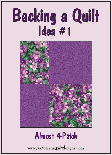 When you want to use a pieced backing... #quilting