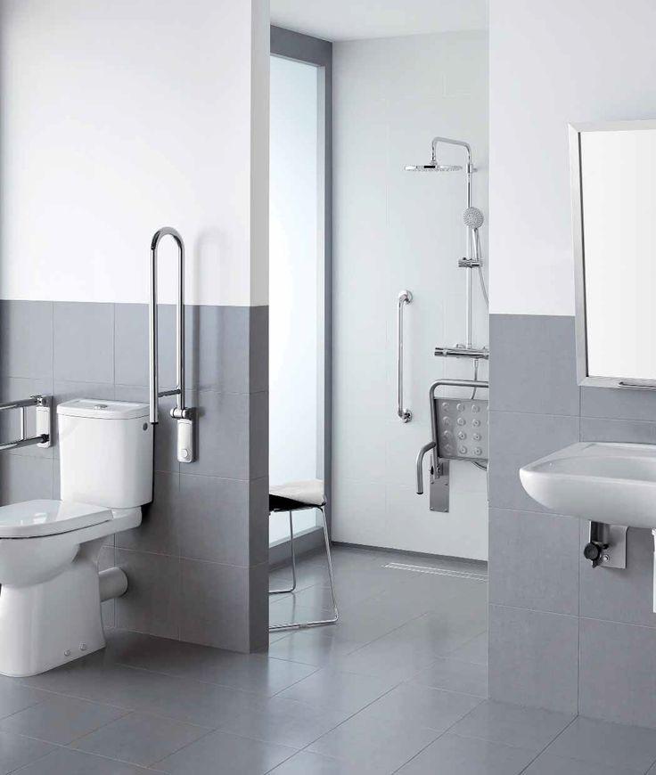 ¿Cómo construir y equipar un baño accesible? | Diseño de ...