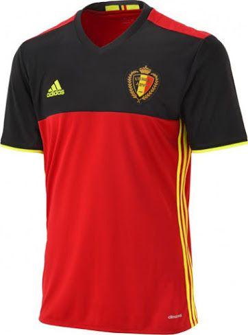 Belgium Euro 2016 Home Kit Released - Footy Headlines