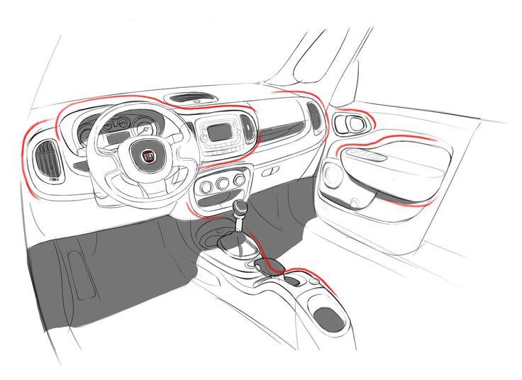 Fiat 500L Design Story