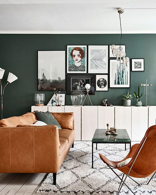 Best 25 dark green walls ideas on pinterest dark green Green colour living room