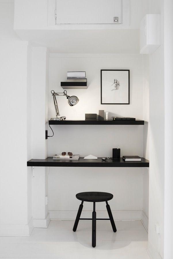 Fantastic Frank | FLODEAU A closet becomes a workspace.