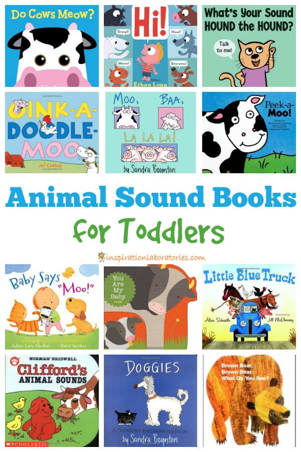 12 Great Animal Sound Books for Toddlers
