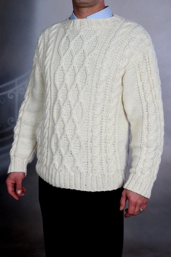 Best 25  White sweater mens ideas on Pinterest | Mens fashion ...