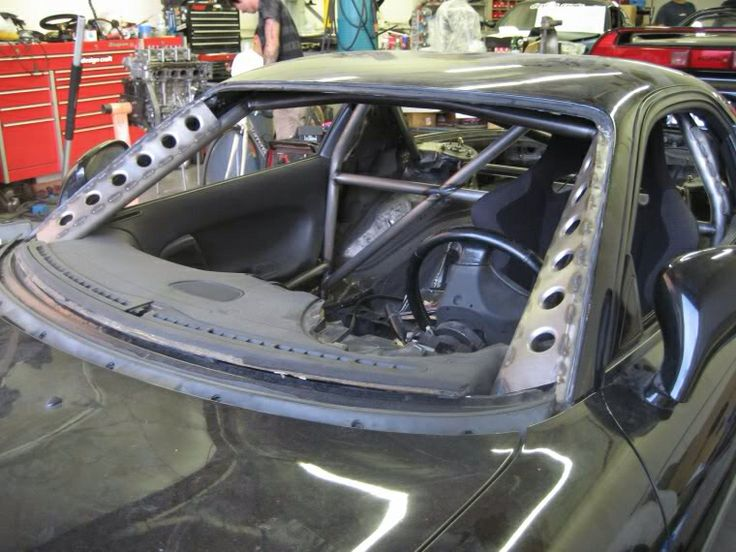 Roll Cage And A Pillar Supports And Strengthening With