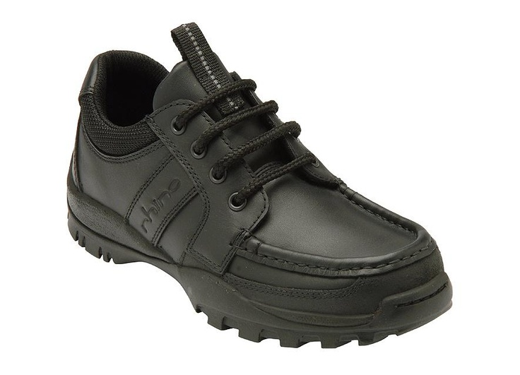 Anaconda is a boys lace-up shoe. Internal contruction provides softer support and comfort. Hard wearing & durable leather with scuff resistant toe. Black colourway ideal for school. http://www.startriteshoes.com/boys/school-shoes/anaconda
