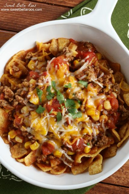 Taco Chili- super easy freezer recipe, just throw in the crockpot when ready!