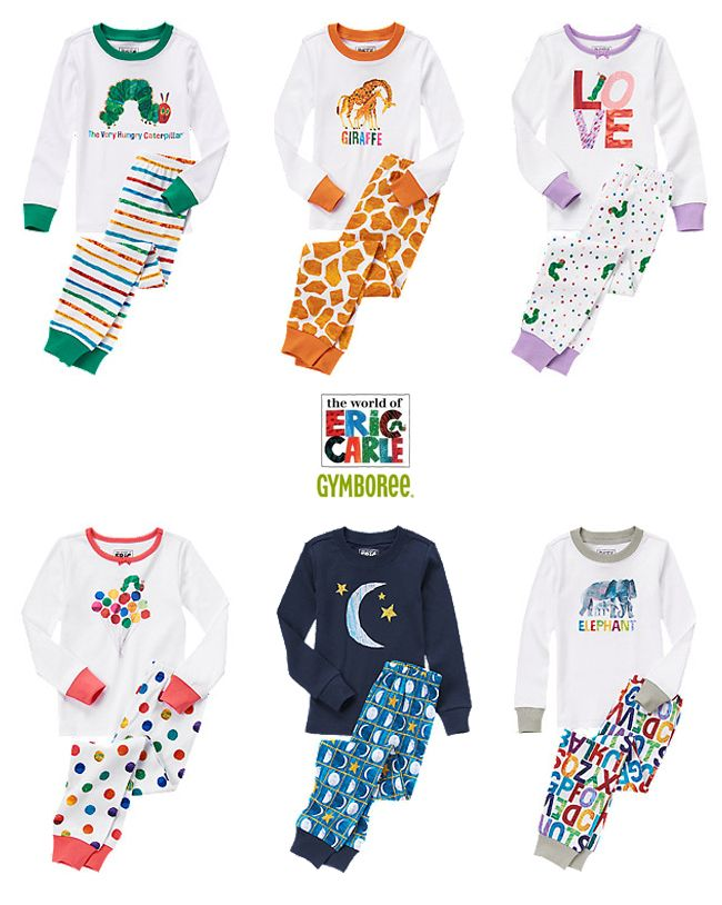 Eric Carle Clothes from Gymboree #hungrycaterpillar #ericcarle #gymboree The Very Hungry Caterpillar Brown Bear, Brown Bear The Grumpy Ladybug