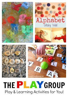 20+ Hands-on & Fun Alphabet Activities for kids - foster letter recognition, letter sounds & more