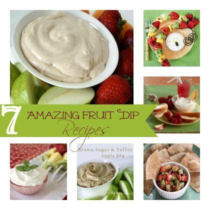 7 Amazing Fruit Dip Recipes