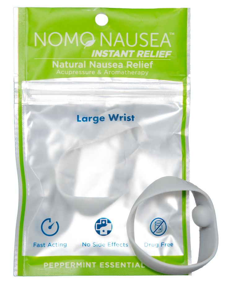 NoMo Nausea Band - All Natural Instant Nausea Relief