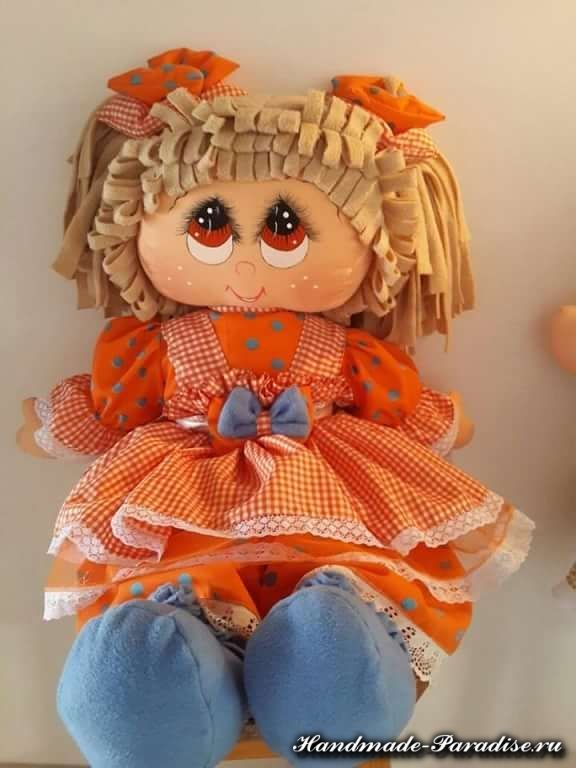 Как нарисовать текстильной кукле глазки