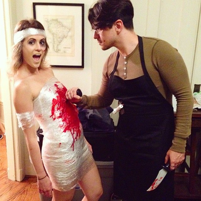 Dexter and his victim costume