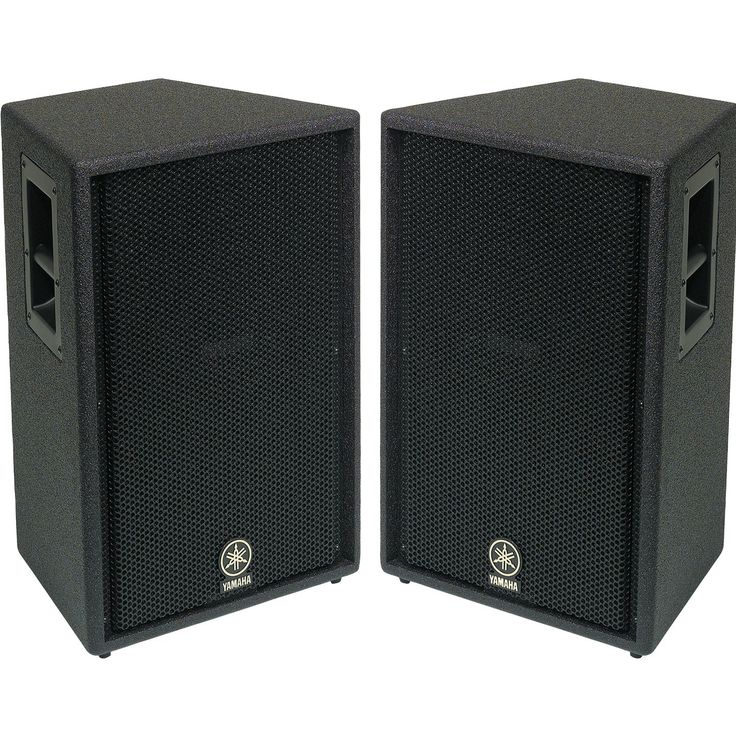 "Yamaha Ci12V passive 2-way 12"" & horn, 350 watts RMS (iPod Party system)"