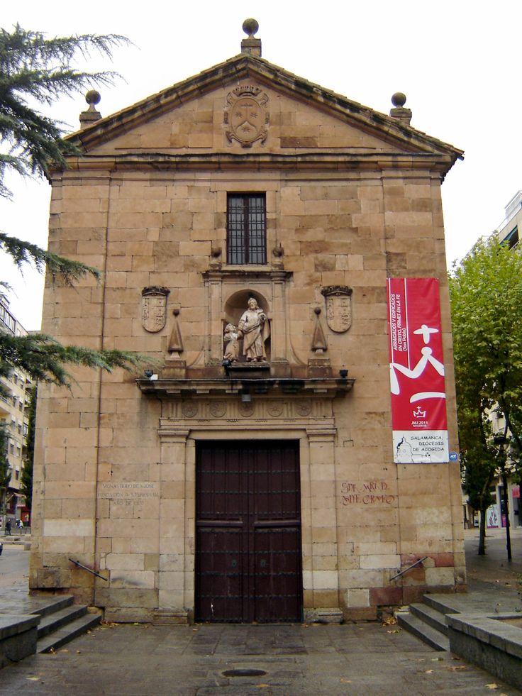 Salamanca - Chapel in Paseo Carmelitas  http://bovington-posts.blogspot.com.es/