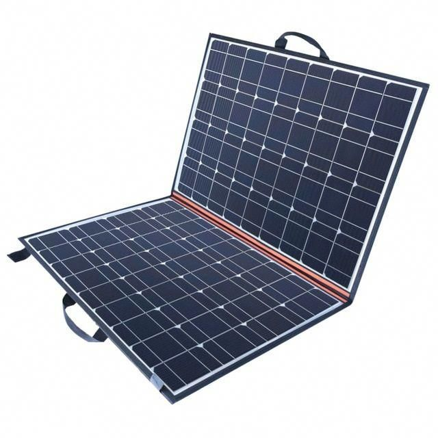 New Folding Solar Panel Kits 120 Watt 160 Watt Ideal For Camping And Caravaning Bosch Spencersmith Solar Panel Kits Rv Solar Caravan