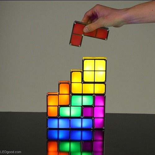 Penny Auctions Canada | Tetris Stackable LED Desk Lamp BUY IT HERE!!