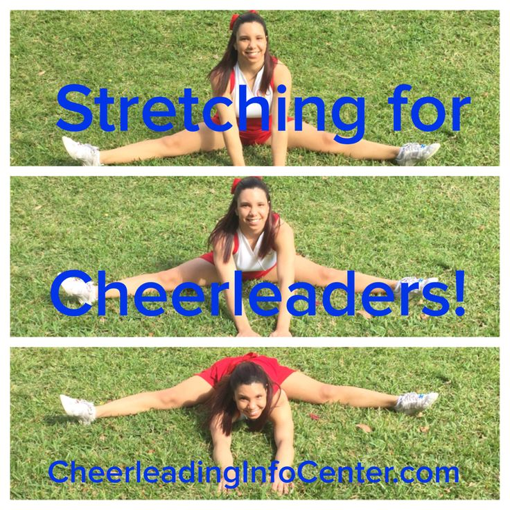 For some great stretching info, check out CheerleadingInfoCenter.com