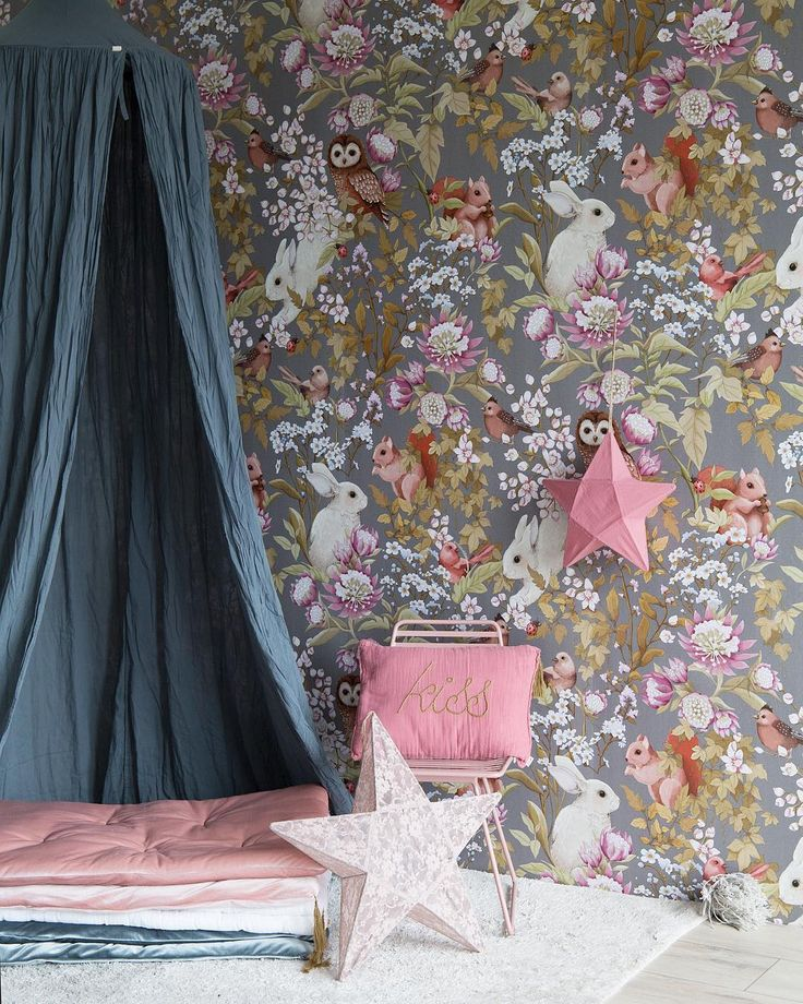 """Romance's celebration is here! From left to right: Numero74 canopy in ice blue, mix of velvet futons, flower lace star lantern in powder, """"Kiss"""" cushion cover message, Star Lantern in rose baobab! What a dream!"""