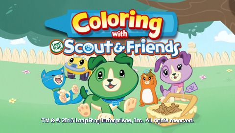 Leapfrog App Center Coloring With Scout And Friends