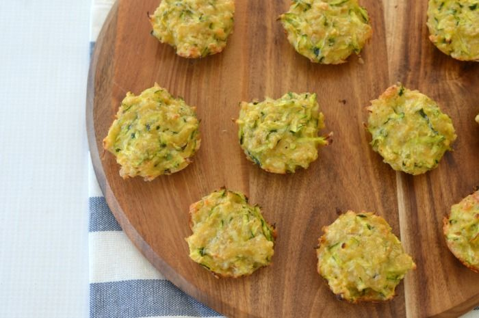 Since discovering this recipe for Zucchini and Cheese Mini Muffins, we