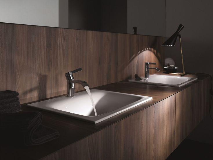 Vasque à encastrer rectangulaire en acier émaillé BETTELUX Collection Vasque à encastrer by Bette | design Tesseraux   Partner