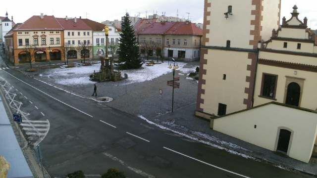 Dobruska - Czech Republic Live webcams City View Weather - Euro City Cam