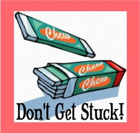 "The Scripture Lady loves creating Bible memory verse games! Here is one called ""Don't Get Stuck!"" to make memorizing Scripture fun."