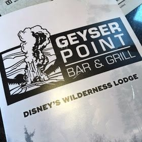 Geyser Point Bar & Grill at Disney's Wilderness Lodge. #WaltDisneyWorld #disneyresorts  #DisneyDining