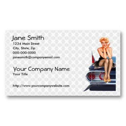 17 best pin up girl business cards images on pinterest business hot rod pin up girl business card templates colourmoves