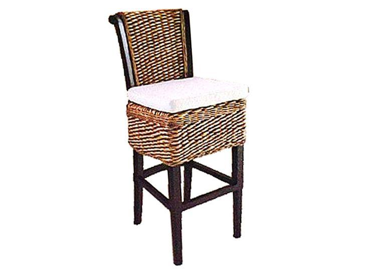 Crystal Barstool #furniture #rattanfurniture http://indonesiarattan.com