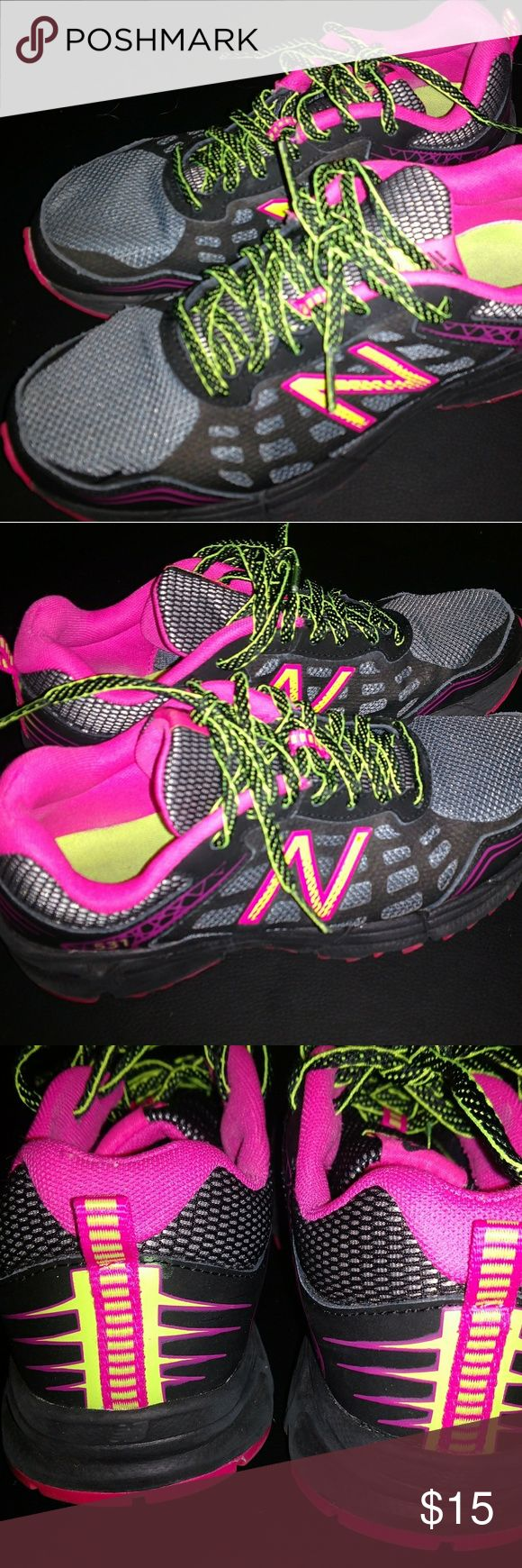 NEW BALANCE TRAIL 531 bright colors Women's lightly used New Balance 531 size 6.5.  Nice bright colors! New Balance Shoes Athletic Shoes
