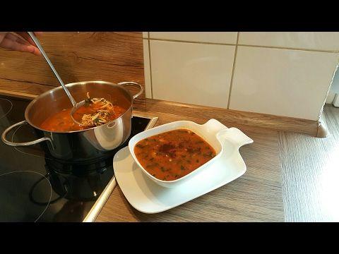 Çorba Tarifi+Arpa şehriyeli tavuklu ve bol maydonozlu enfes bir corba-Hatice Mazi - YouTube