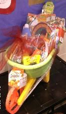 Wheelbarrow Easter Basket, cute idea for the boy