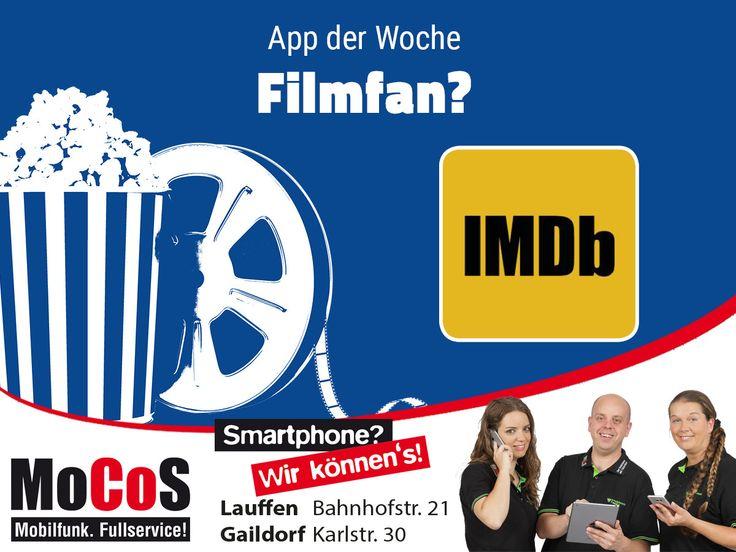 Du liebst Filme und Serien? Dann könnte für dich die Internet Movie Database interessant sein. Sicher dir den Zugriff auf die weltweit größte Datenbank zu Filmen, Serien, Trailern sowie Schauspielern.  Android: http://bit.ly/IMDb_Android  IOS: http://bit.ly/IMDb_iOS