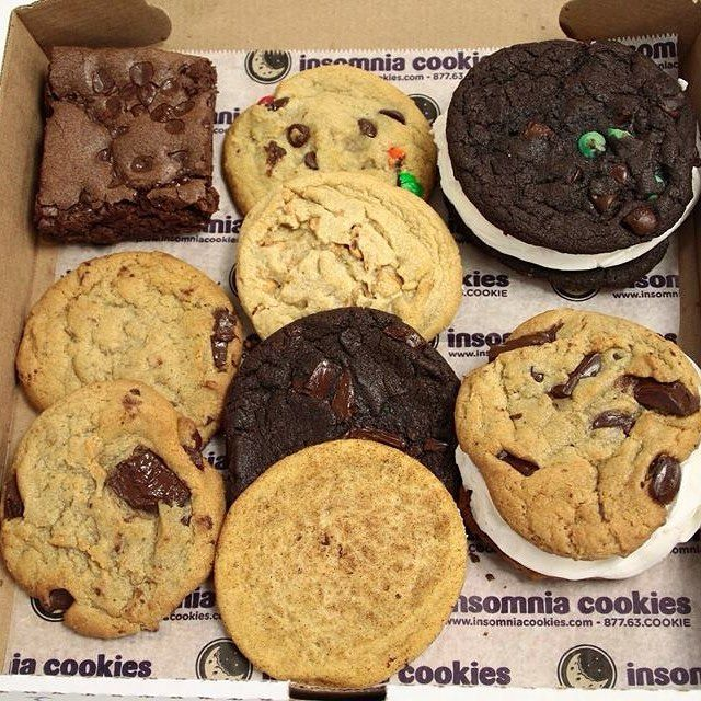 Insomnia Cookies specializes in delivering warm, delicious cookies right to the doors of individuals and companies alike - until 3am.