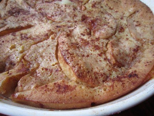 Sourdough Latvian Apple Cake