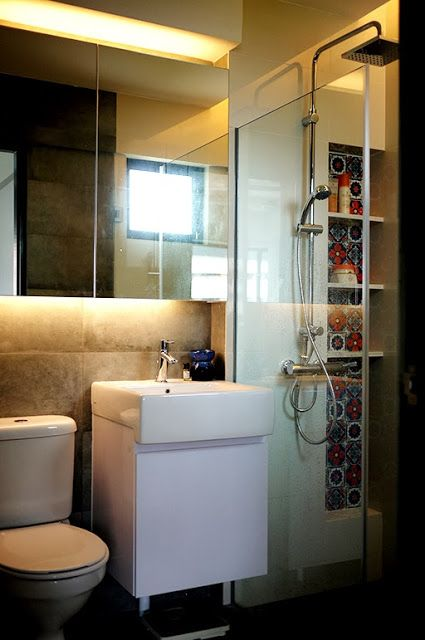 The master toilet you can read all about the hdb for Bathroom design reading