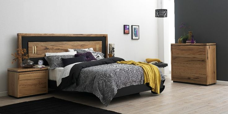 Pilbara Bedroom Furniture Suite, featured on The Block, available from Forty Winks