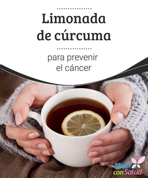 Limonada de #cúrcuma para prevenir el #cáncer  ¿Sabías que, gracias a sus propiedades, la #cúrcuma es uno de los mejores alimentos anticancerígenos que existen? Puedes incluirla en tu rutina diaria con estas recetas de limonada y leche #Recetas