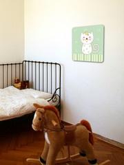 Katt  http://www.barndekor.se/products/wallrounder-katt-wrq0113