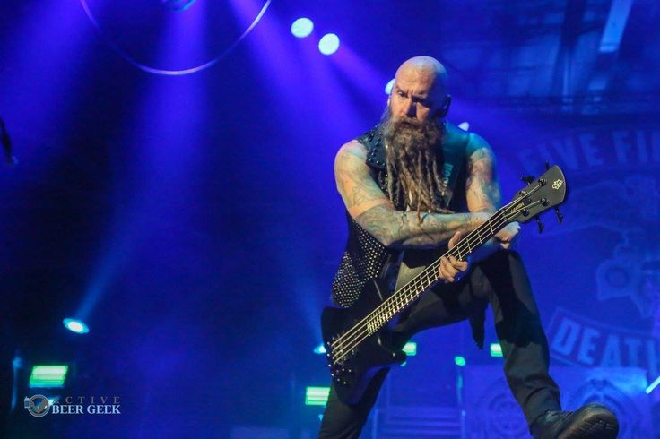 Five Finger Death Punch performing at Cross Insurance Arena in Portland, Maine.