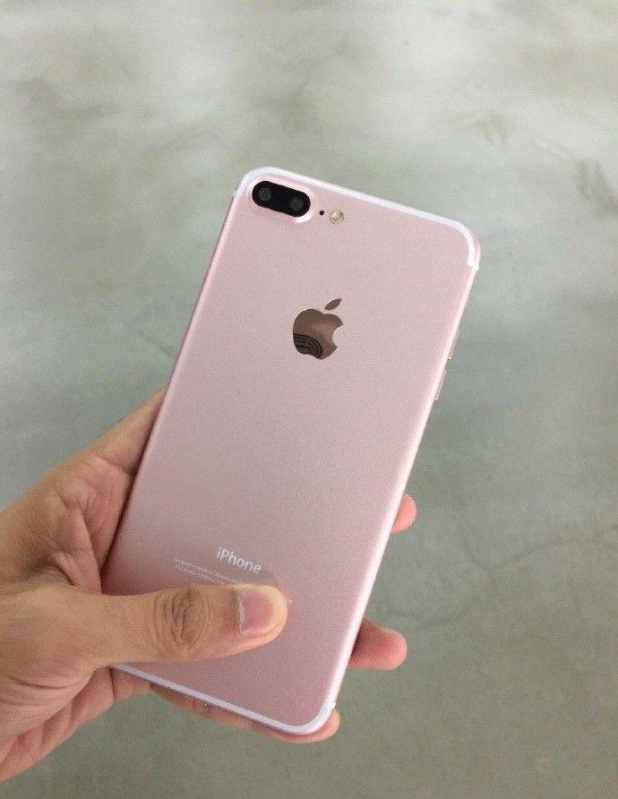 iPhone 7 color oro rosa sonríe para la cámara en una nueva filtración