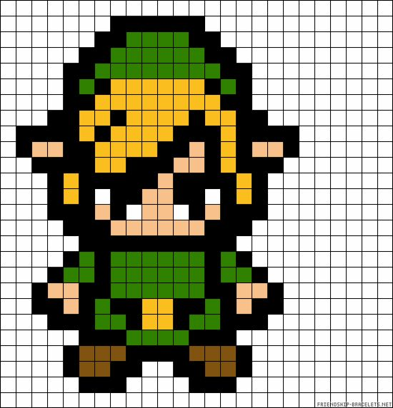 Your Childhood Lives On In Perler Beads: 40 Nerdy 8-Bit Patterns | Autostraddle