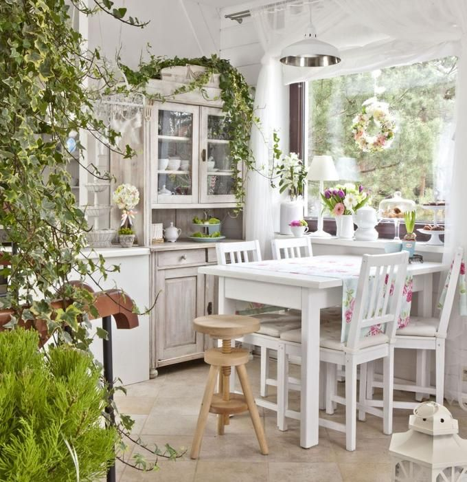 pretty #shabby #dining